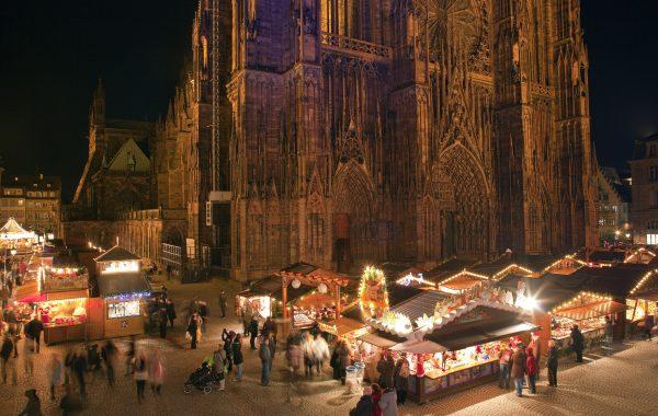 Elsässischer Weihnachtsmarkt in Straßburg
